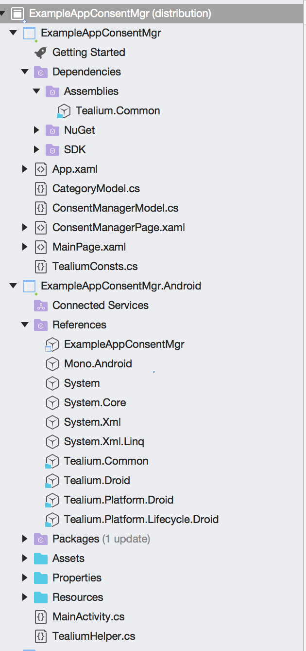 Install | Tealium for Xamarin |Tealium Developer Docs